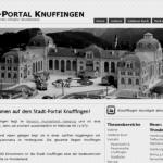 Neues Layout des Stadt-Portal Knuffingen