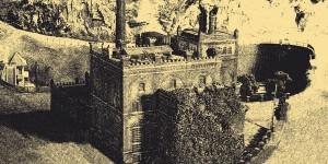 Frühe Fotografie Ende des 19. Jahrhunderts.